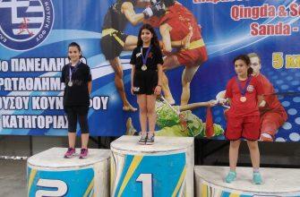Νέες επιτυχίες για τους αθλητές μας στο 19ο πανελλήνιο πρωτάθλημα wushu kung-fu